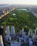 Udsigt over Central Park i New York