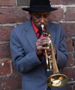 Jazz musiker i New Orleans